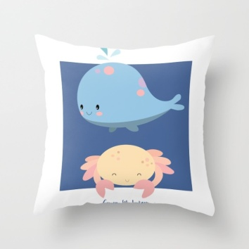 little-whale-and-crab-pillows
