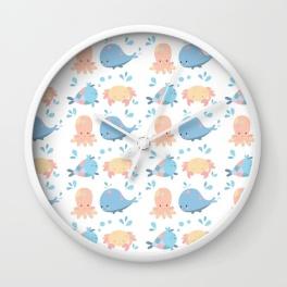 sea-friends-pt2-wall-clocks
