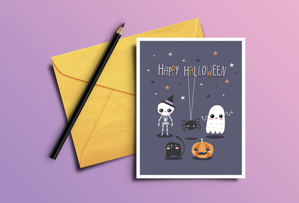mockup halloween