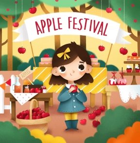 apple festival cover